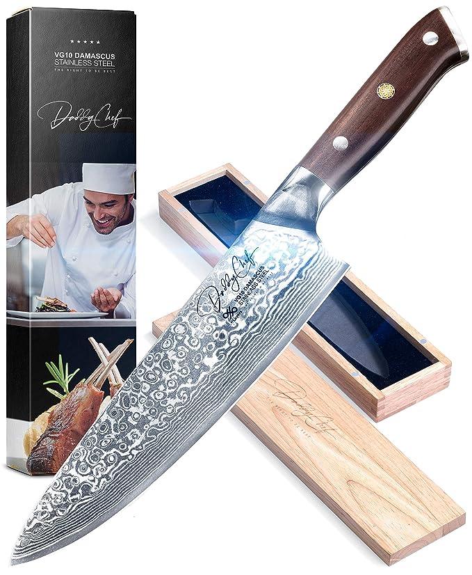 Amazon.com: Cuchillo Chef de 8.0 in – cuchillo japonés con ...
