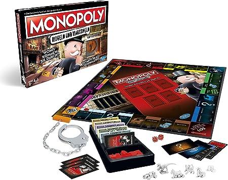 Hasbro- Monopoly Mogeln - Juego Familiar clásico, Color carbón (E1871100): Amazon.es: Juguetes y juegos