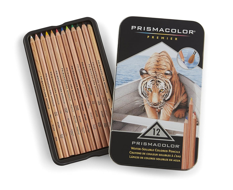 Sanford Prismacolor Watercolor Pencil Set, 12-Pack Newell Rubbermaid Office 4064HT reikos_0019522742AM_0045221