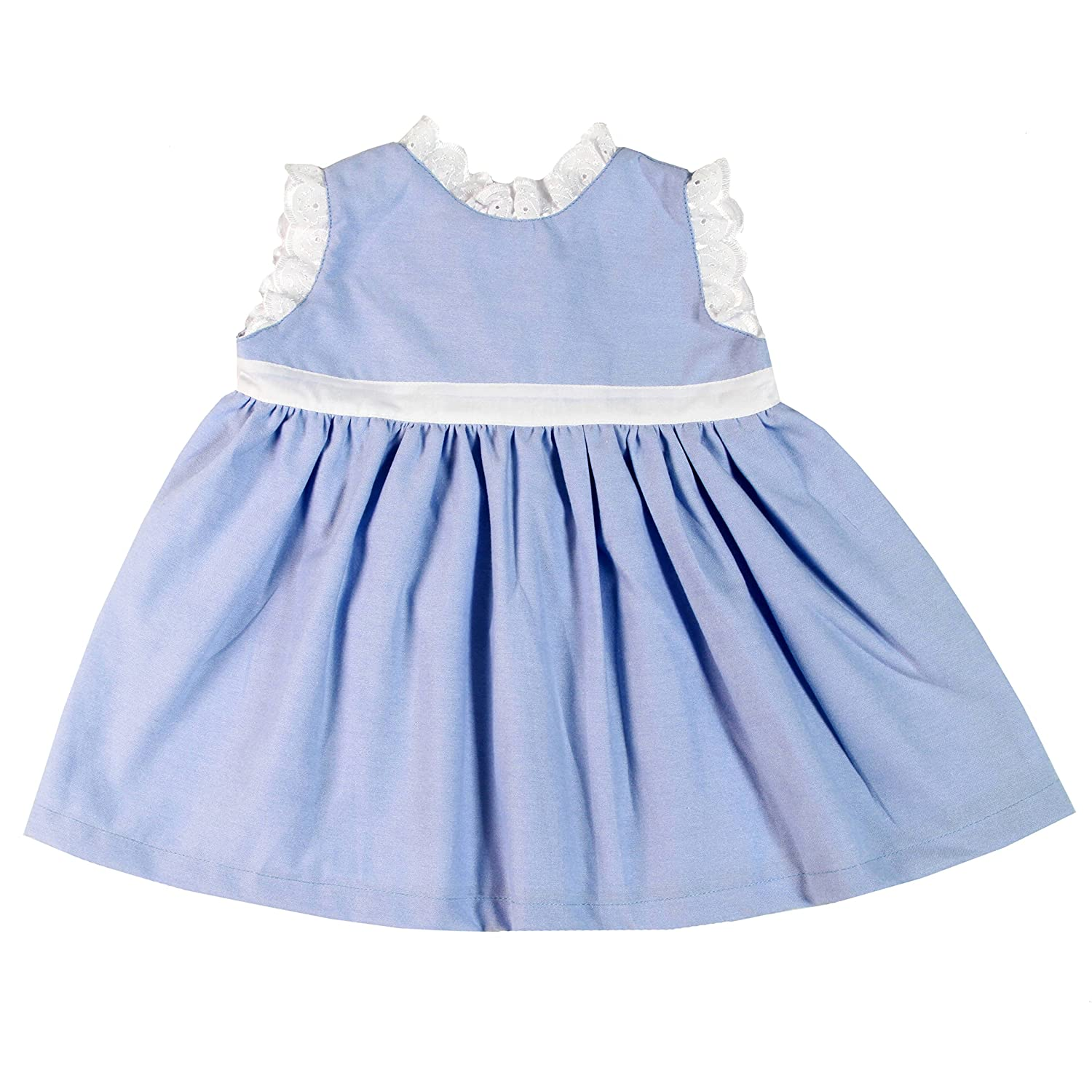 e137ca77a1aa Amazon.com  Bee nene Baby Girl Infant Sleeveless Dress Cross Organic ...