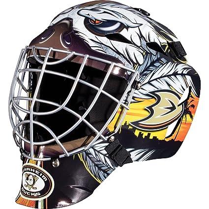 Amazon Com Franklin Sports Anaheim Ducks Goalie Mask Team