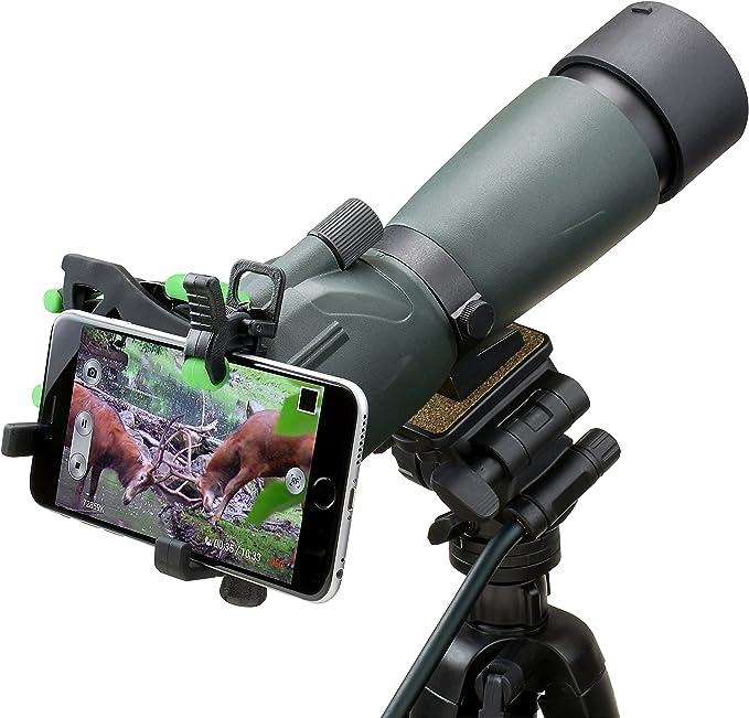 HOOKUPZTM 2.0 Adaptador Universal de Smartphones a Lentes ópticos ...