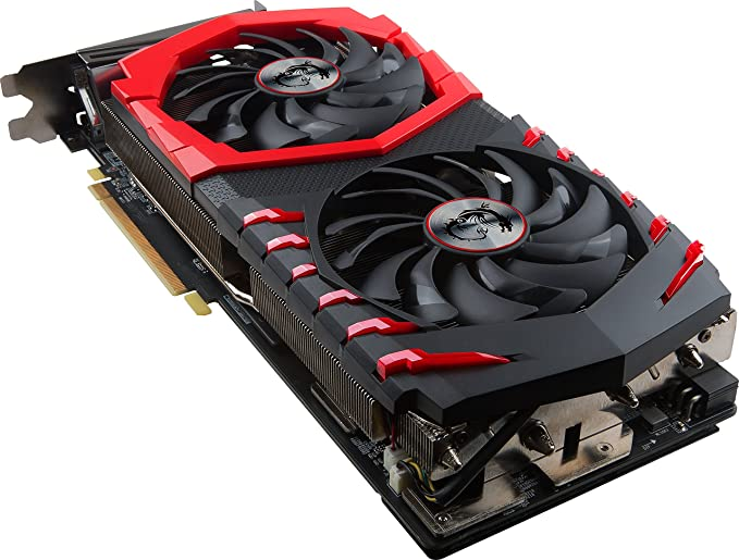 MSI Radeon RX 580 Gaming X+ 8G - Tarjeta gráfica (refrigeración Twin Frozr Vi, 8 GB Memoria GDDR5)