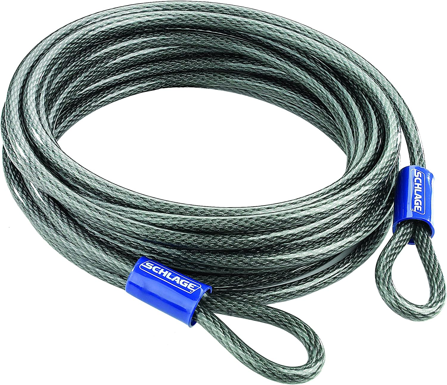 """Schlage Flexible 3/8"""" Steel Looped Security Cable"""