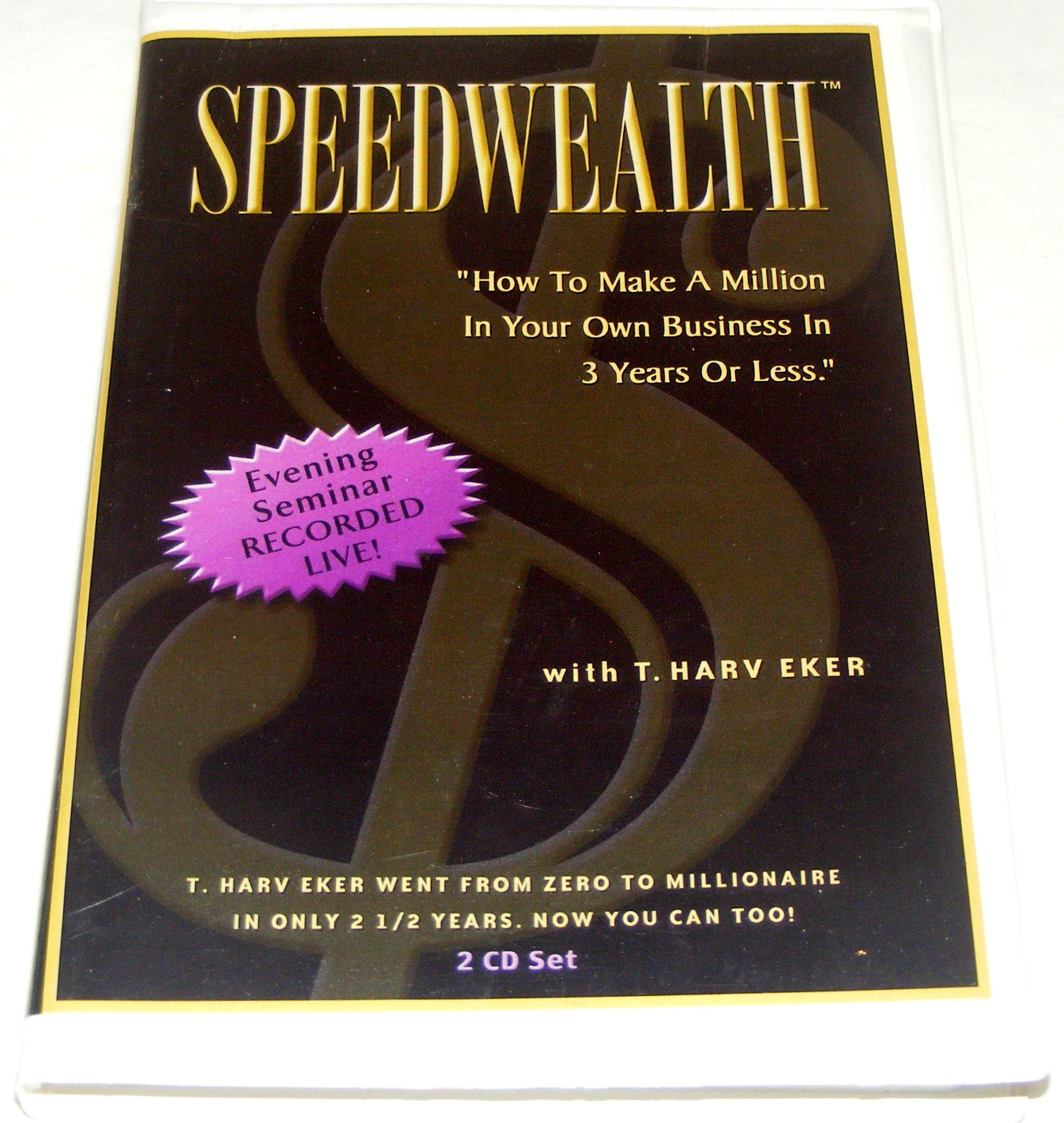 Speedwealth how to make a million in your own business in 3 speedwealth how to make a million in your own business in 3 years of less t harv eker amazon books fandeluxe Choice Image
