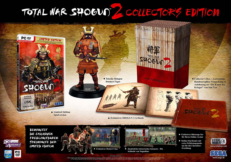 Total war: shogun 2: содержание коллекционного издания total war.