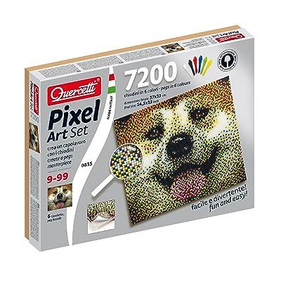 Quercetti Dog Pixel Art Set: Toys & Games