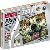 Quercetti 0815 - Pixel Art Set, Cane, 7.200 Chiodi