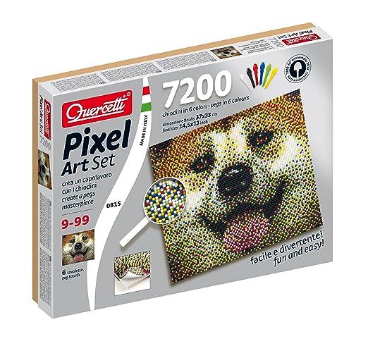 9 opinioni per Quercetti 00815- Gioco Pixel Art Set 7200 Cane