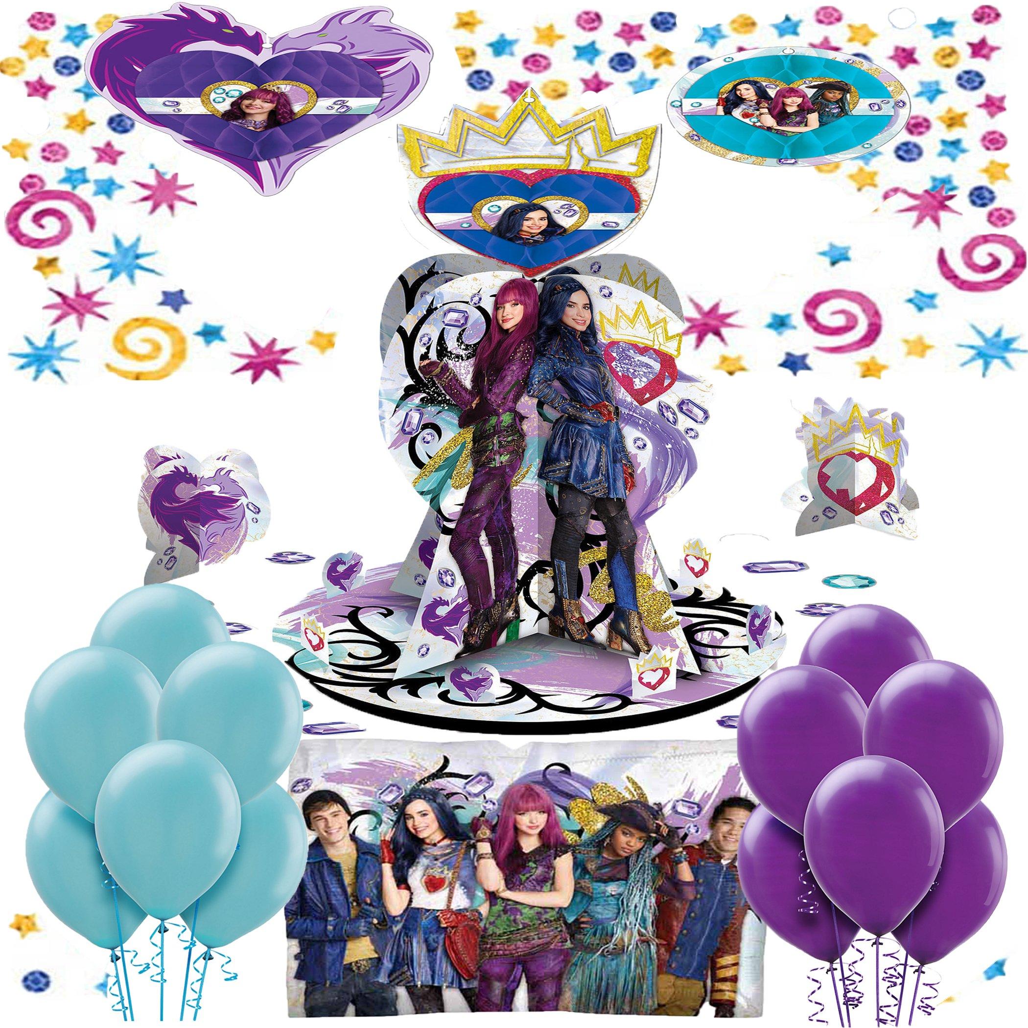 Descendants 2 Birthday Party Decorating Kit Bundle