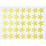 Creation Station - Pegatinas (20 mm, 2100 unidades), diseño de estrella, color dorado