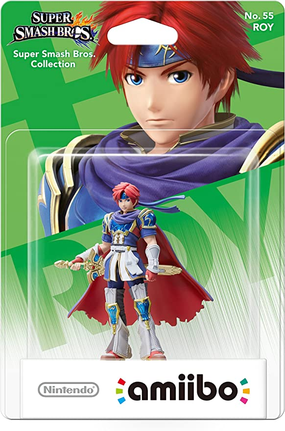 Nintendo - Amiibo Smash Roy: Amazon.es: Videojuegos