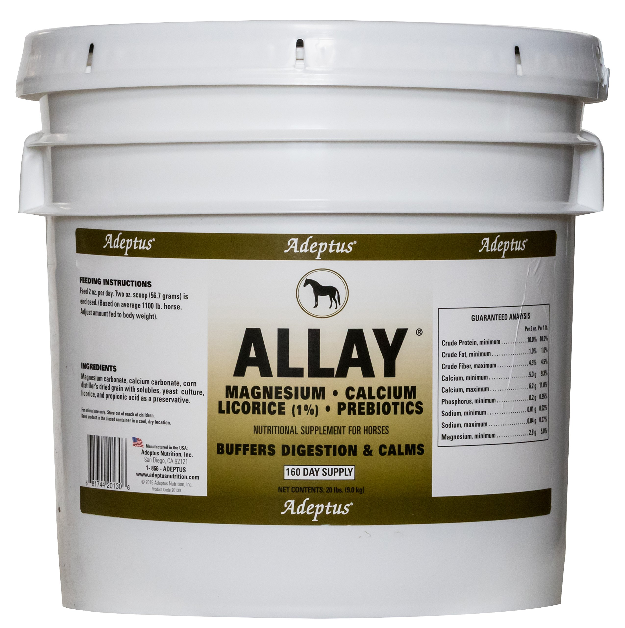 Adeptus Nutrition Allay EQ Joint Supplements, 20 lb./12 x 12 x 12 by Adeptus Nutrition