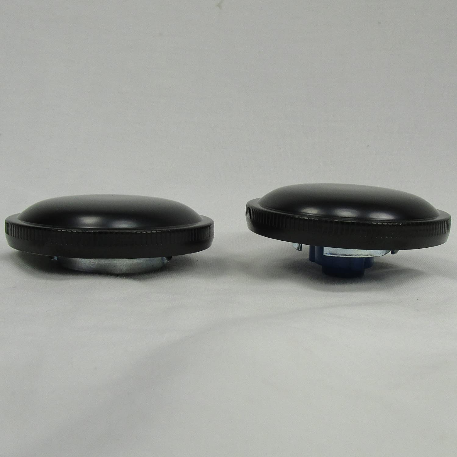 Vented and Non-VentedCAM Bayonet Style Gas Caps Touring Replaces HD 61102-73 Big Twins FL FXS Models Left /& Right Side Black Gas Caps for 1973-1982 Harley Softail