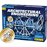 Thames & Kosmos Architectural Engineering | Science Experiment & Model Building Kit | Build 26 Models of Structures…