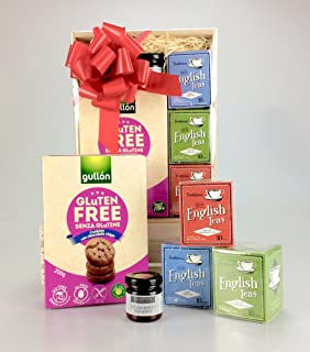 Lakeland gluten free gift boxed sweet savoury hamper ideal gluten free tea time treats hamper gift box teas jam biscuits negle Image collections