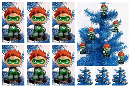 Image Unavailable. Image not available for. Color: Super Hero GREEN LANTERN  Holiday Christmas Ornament ... - Amazon.com: Super Hero GREEN LANTERN Holiday Christmas Ornament Set