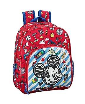 "Mickey Mouse ""Maker"" Oficial Mochila Infantil 280x100x340mm"