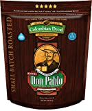 2LB Don Pablo Colombian Decaf - Swiss Water Process Decaffeinated - Medium-Dark Roast - Whole Bean Coffee - Low Acidity…