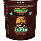 2LB Don Pablo Colombian Decaf - Swiss Water Process Decaffeinated - Medium-Dark Roast - Whole Bean Coffee - Low Acidity - 2 P