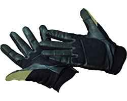 Caldwell Ultimate Shooting Gloves with Breatheable Material, Padding, and Touch Control for Target Shooting, Range, and Hunti