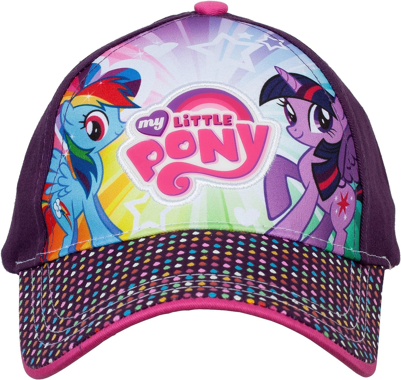 Hasbro Twilight Sparkle and Rainbow Dash My Little Pony Baseball Cap, 3-6 Years