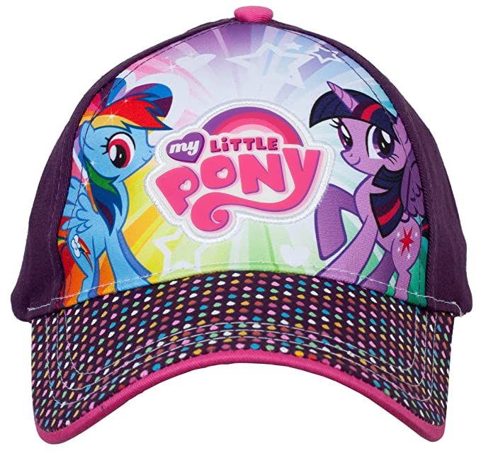 cc99f23e57e Image Unavailable. Image not available for. Color  Hasbro Twilight Sparkle  and Rainbow Dash My Little Pony Baseball Cap ...