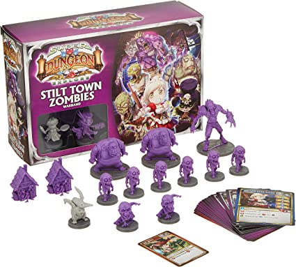Ninja Division Stilt Town Zombies Warband Game