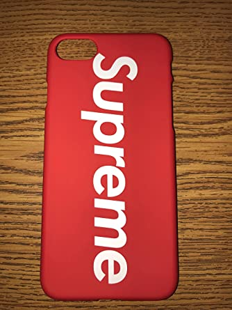 Iphone 6 Plus Supreme Case Red Box Logo Slim Sleek Fit Hardcover Back