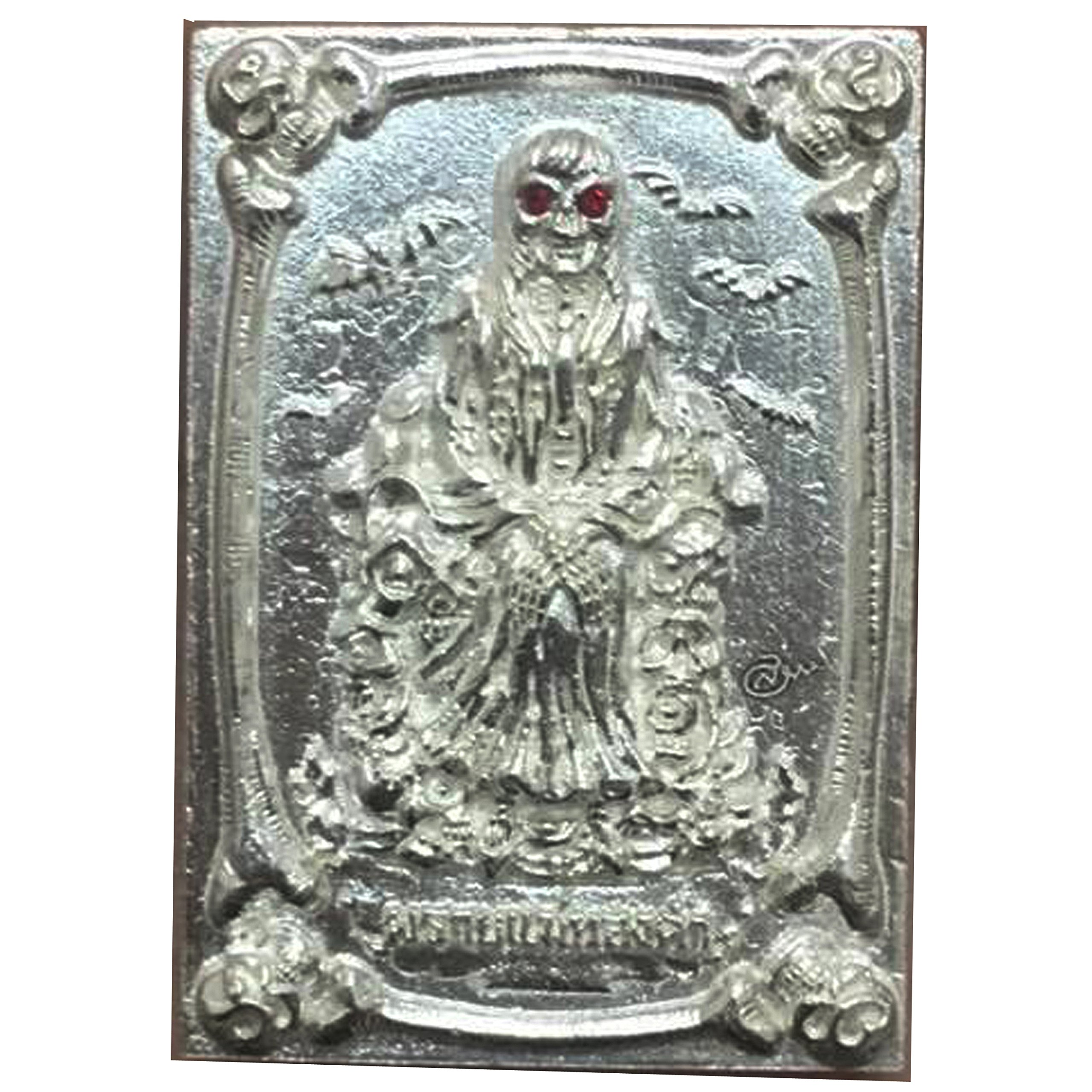 Good Luck Business Jewelry Magic Pendant Phrai Mae Tongkaam Naa Nah Tong Riagtraab Raabchock Amulet by Kruuba Subin by Amulet Land (Image #1)