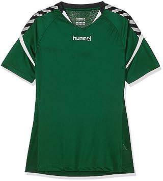 Hummel Niños AUTH. Charge Short Sleeve Poly Jersey Camiseta, Otoño-Invierno, Infantil