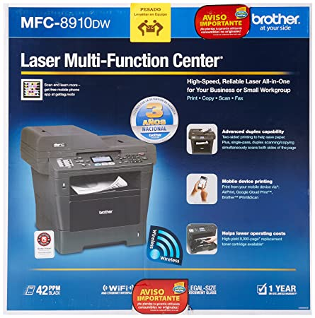 BROTHER MFC-8910DW PRINTER DRIVERS FOR WINDOWS 7