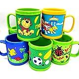 Jiada Cartoon Characters Mugs (Multicolour) - Set of 6