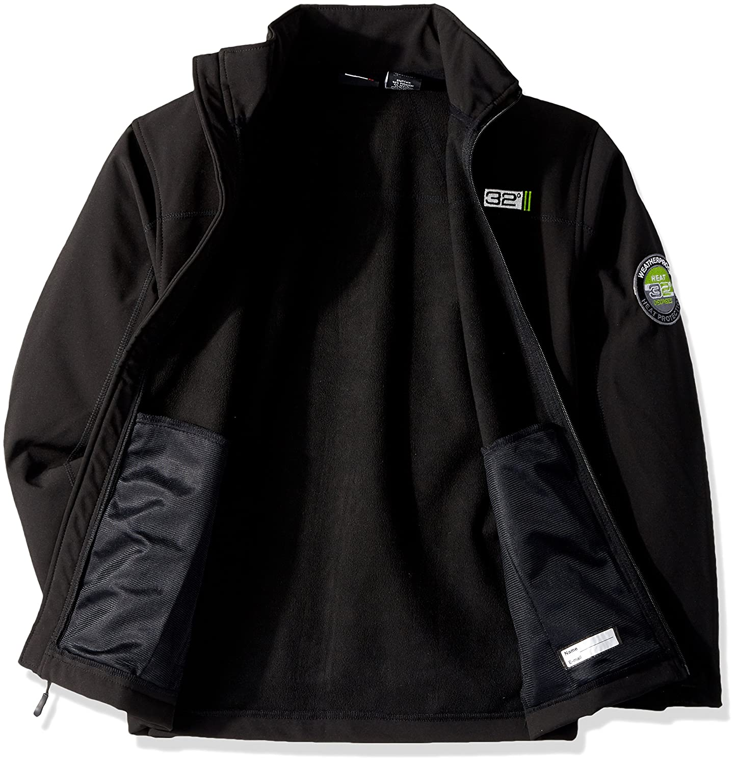 32 DEGREES Boys Outerwear Jacket Softshell-WF74-Black 14//16 Weatherproof 32 Degrees OBWF74H More Style Available