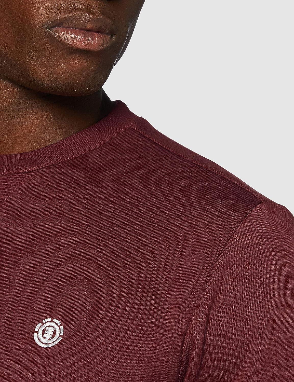 Element Herren Cornell Classic - Sweatshirt für Herren Sweatshirt Vintage Red