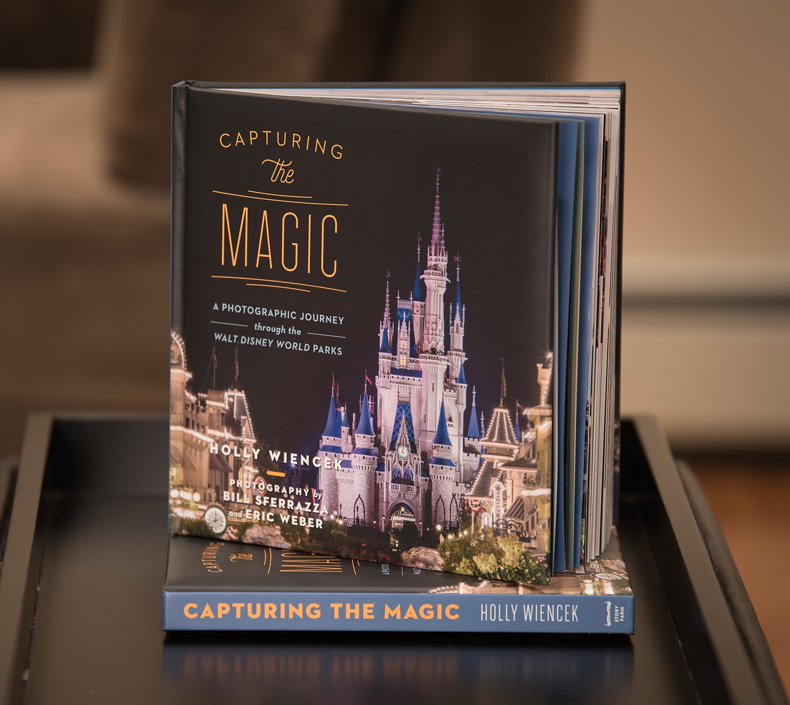 Capturing The Magic A Photographic Journey Through The Walt - Magic coffee table