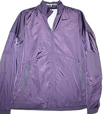 Nike Golf Women s Water Resistant Full Zip Jacket w  Fleece Lining - Raisin  (M 6e4734548b