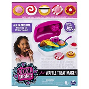 Cool Maker – All in One Food Craft Kit – Mini Waffle Treat Maker