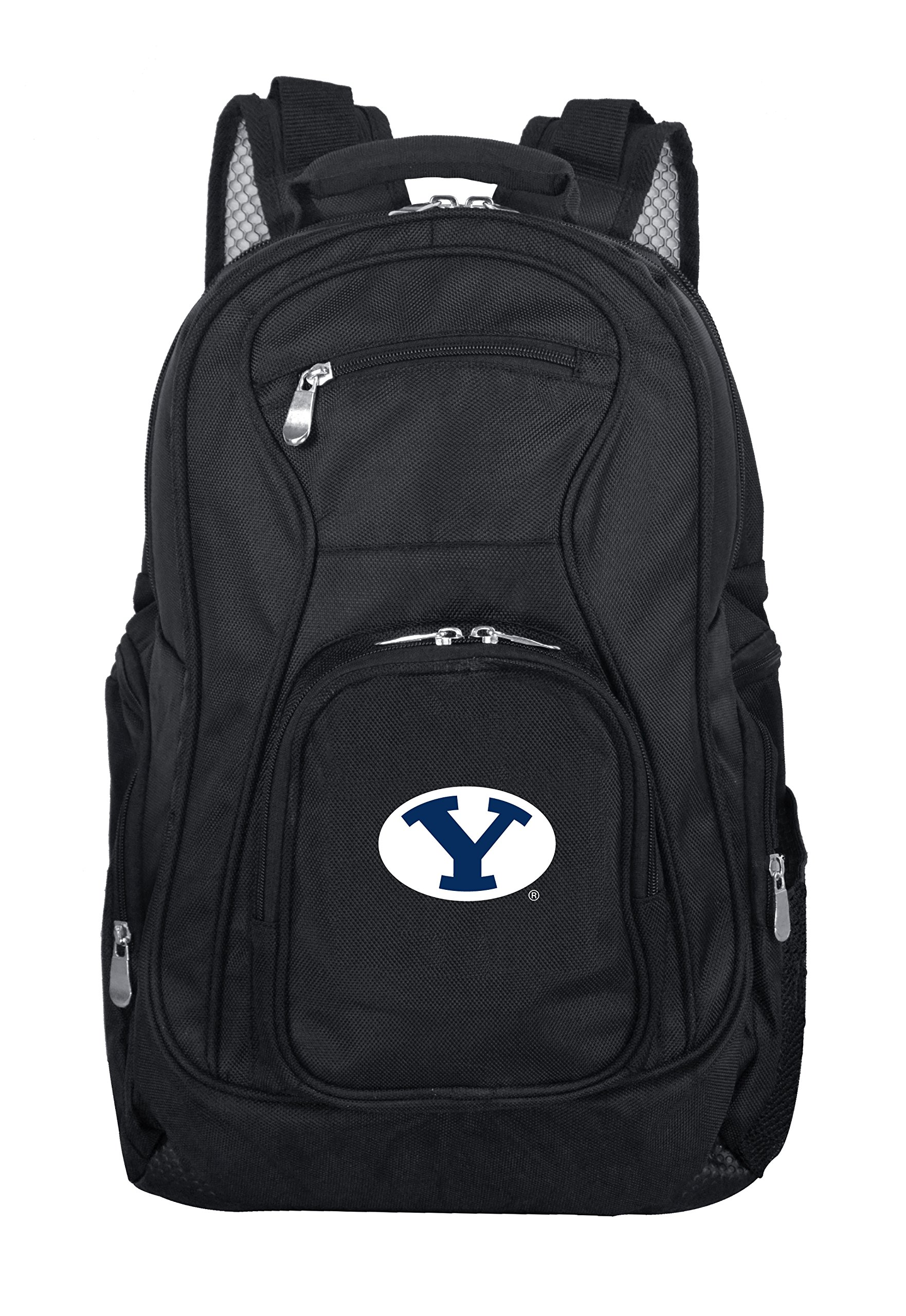Denco NCAA BYU Cougars Voyager Laptop Backpack, 19-inches, Black