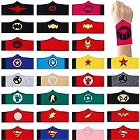 HONGXIN-SHOP Pulseras de Superhéroe para Niños y Niñas