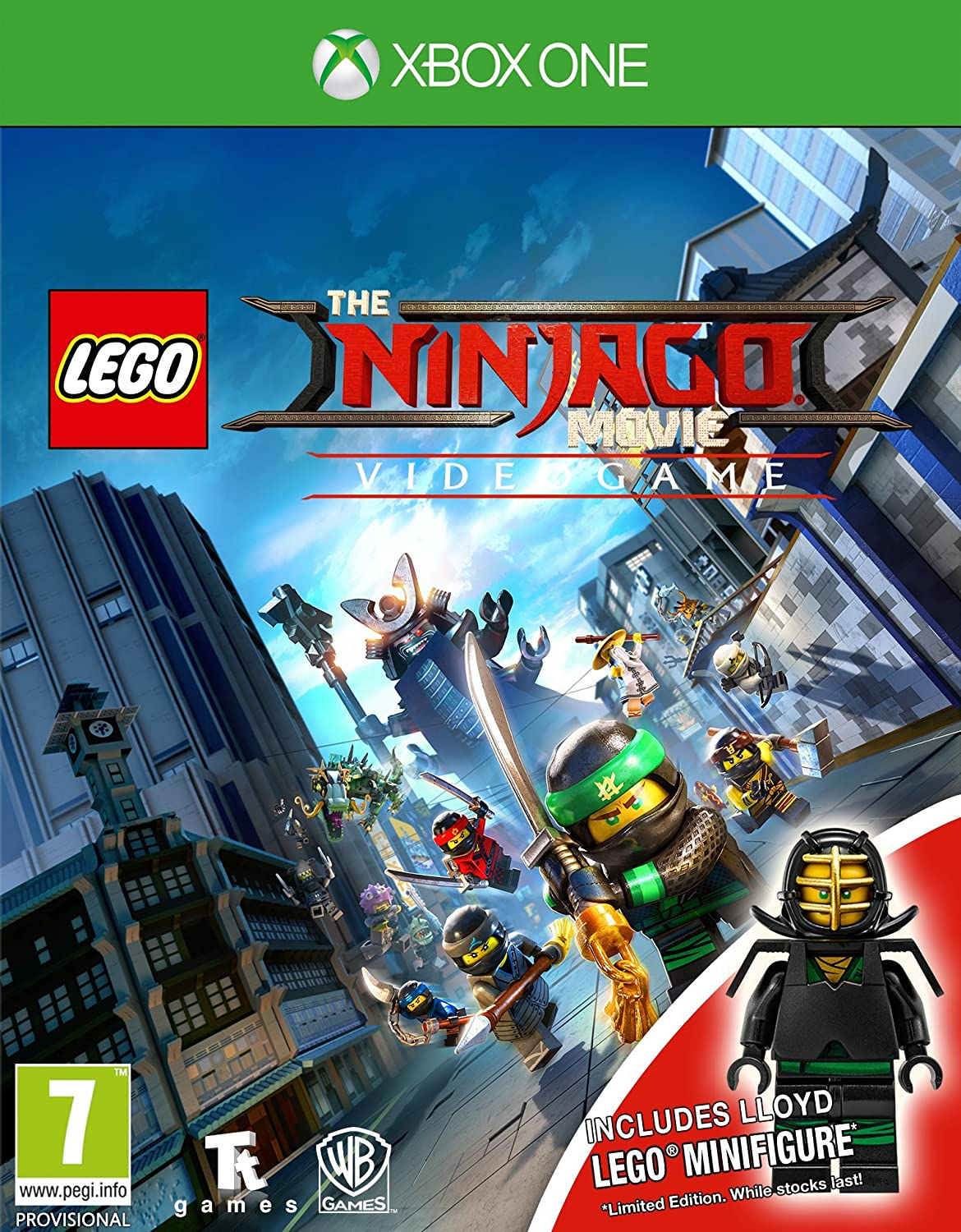 Lego The Ninjago Movie Videogame (Toy Edition) (Xbox One) (New): Amazon.es: Videojuegos