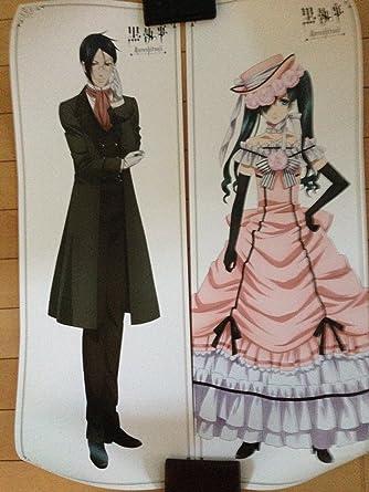【Anime Japan 2014 限定】 描き下ろしドレスアップイラスト 黒執事 セバスチャン&シエル
