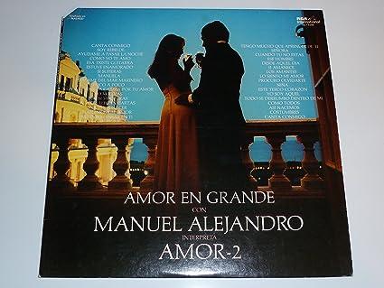 AMOR-2 - Amor En Grande Con Manuel Alejandro - Amazon.com Music