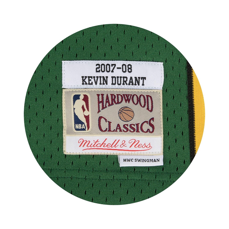 88deb1273 Mitchell   Ness Kevin Durant  35 Seattle SuperSonics 2007-08 Swingman NBA Jersey  Green