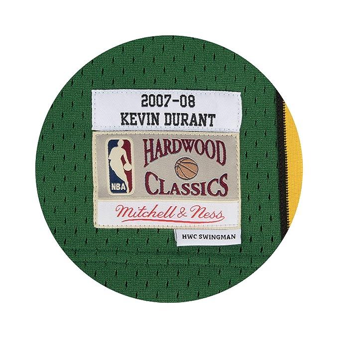 Camiseta Swingman vintage Mitchell & Ness Kevin Durant en Seattle Supersonics Talla S ...: Amazon.es: Ropa y accesorios