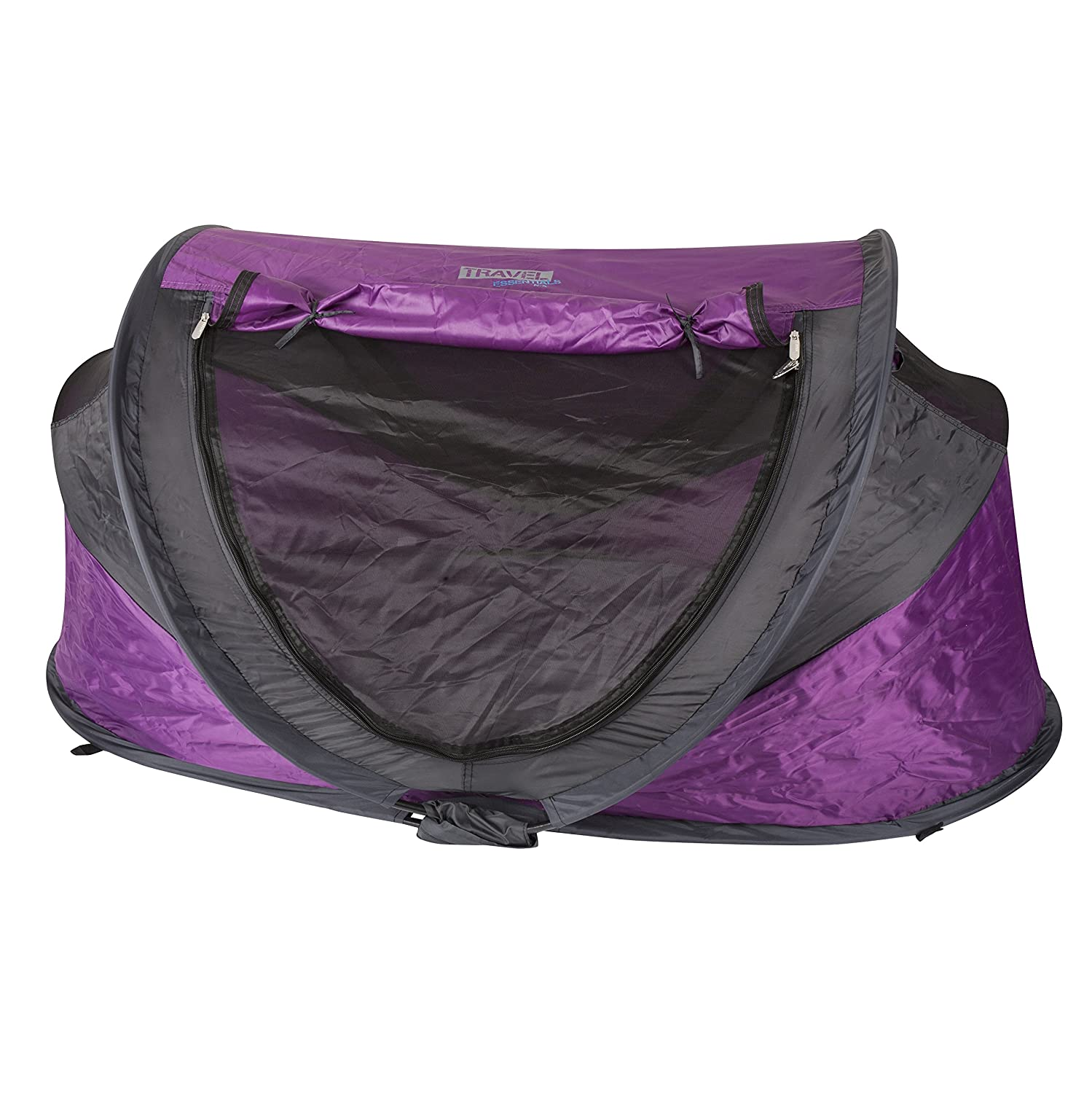 NSA Deluxe UV Travel Cot (Purple) TCDX-130-Purple