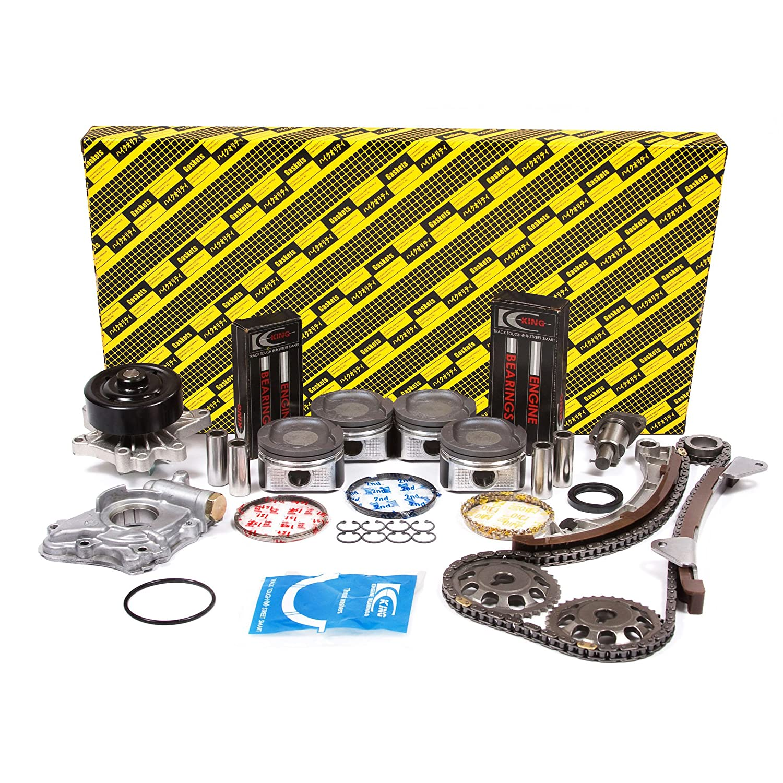 Evergreen OK2024//0//0//0 98-99 Chevrolet Prizm Toyota 1.8L DOHC 1ZZFE 16V Enigne Rebuild Kit