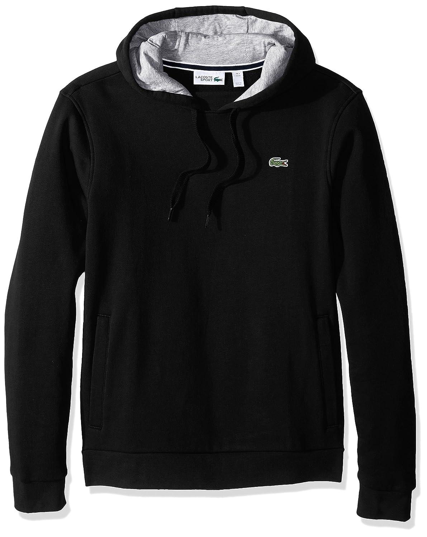 f74fce7a9 Lacoste Men's Sport Pull Over Hoodie Fleece Sweatshirt at Amazon Men's  Clothing store: