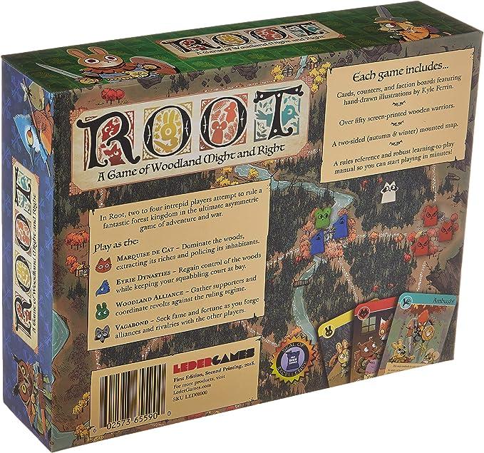 Leder Games: Root Board Game - English: Amazon.es: Juguetes y juegos