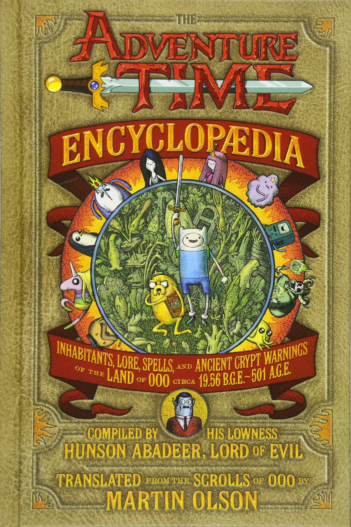 The Adventure Time Encyclopaedia: Inhabitants, Lore, Spells, and ...